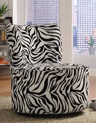 Zebra Print Accent Chair Alluring Zebra Print Accent Chair With Decorate Your Home With