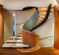 Stairs With Open Risers by Wall Mount Handrail Ideas Staircase Contemporary With Minimal