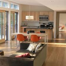 Open Plan Kitchen Design Ideas How To Decorate A Small Open Plan Kitchen Living Room Meliving