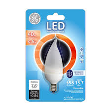Home Led Light Bulbs by Tcp 40w Equivalent A15 Household Led Light Bulbs Red 2 Pack