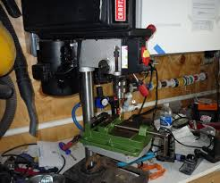 give your table top drill press more power 5 steps