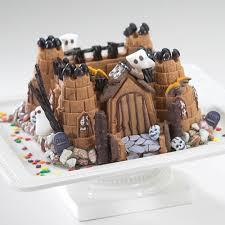 Halloween Castle Cakes by Nordic Ware Castle Bundt Pan Walmart Com