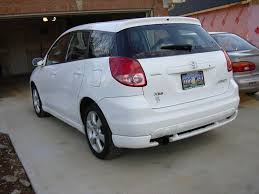 2003 toyota matrix information and photos momentcar