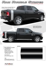 Truck Bed Flag Mount Ram Rumble Stripes 2009 2010 2011 2012 2014 Dodge Ram Bed