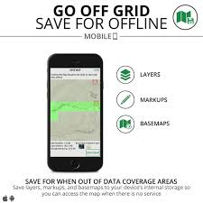 Cell Phone Service Map Backcountry Cell Phone Land Navigation Recoil Offgrid