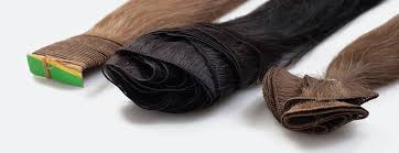 Types Of Sew In Hair Extensions by Customized Hair Extensions Hand Tied Hair Wefts Machine Sewn