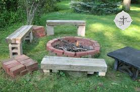 diy backyard pit budget pit from reclaimed brick prodigal pieces