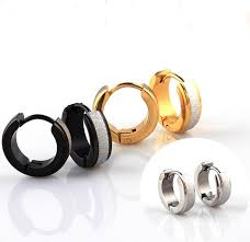 earring studs with loop frosted gold hoop earring earrings studs loop women girl vintage
