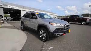 2016 jeep cherokee sport silver 2015 jeep cherokee trailhawk silver fw521961 mt vernon