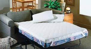 Memory Foam Sofa Bed Pillow Top Mattress Pad - Sofa bed mattress memory foam