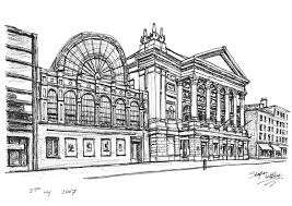 royal opera house in covent garden original drawings prints and