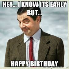 Thor Birthday Meme - image early happy birthday wishing meme jpg knights and brides