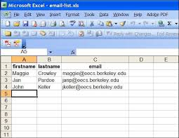 mail merge from excel e mail merge with thunderbird