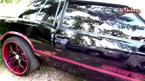 pink and black cars pink black chevy monte carlo ss on 22