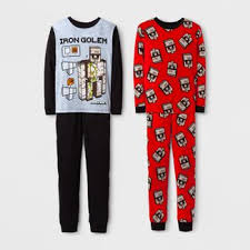 minecraft pajamas for target