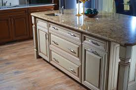 this kitchen island has two pots u0026 pans drawers a cutlery tray