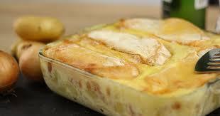 cuisiner simple et rapide recette tartiflette facile et rapide