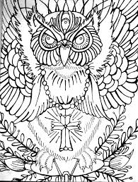 323 best coloring pages owls images on pinterest owls