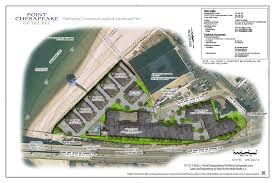 site plan of point chesapeake waterfront homes
