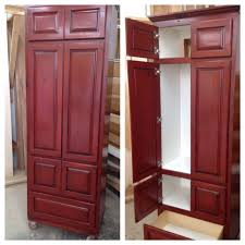 pantry cabinet red pantry cabinet with pantries on pinterest