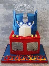 optimus prime cakes optimus prime transformer cake cakes and cupcakes for kids