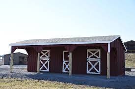 Lean To Barns Horse Barns In Stock Pennsylvania Maryland And West Virginia