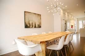Chandelier Dining Room Lighting Nice Contemporary Dining Room - Modern chandelier for dining room