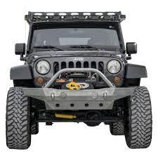jeep wrangler front bumper lod offroad jeep wrangler 2007 2017 destroyer mid width front