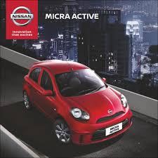 nissan micra active india sales