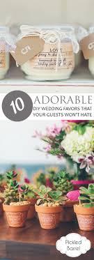 diy wedding favor ideas 10 adorable diy wedding favors that your guests won t