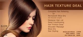 haircut deals lahore blazon salon and studio hair texture deal for women
