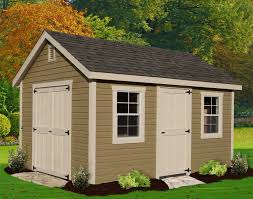 Backyard Cottage Prefab Outdoor U0026 Landscaping Redoubtable Gray Wooden Facade Shed Ideas