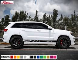 jeep grand cherokee stickers decal sticker vinyl side stripes for jeep grand cherokee wk2 srt 8