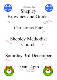 11th pennine east shepley brownies and guides christmas fair