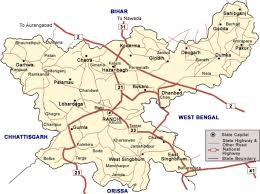 map in road deoghar jharkhand road map
