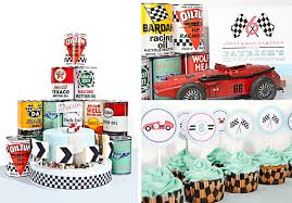 vintage race car party anders ruff custom designs llc