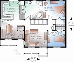 ranch style house plan 2 beds 1 00 baths 1185 sq ft plan 23 2204