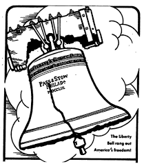 liberty bell coloring page printable in eson me