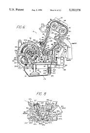 patent us5333578 four cycle engine google patents
