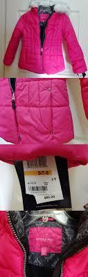 outerwear girls nwt london fog fuchsia pink winter coat