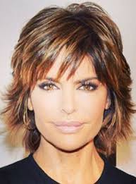 what is the texture of rinnas hair lisa rinna i love her hair shorter or longer and she has thick