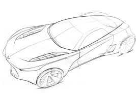 corvette coloring page free download