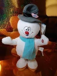 lot stuffins frosty snowman prof hinkle u0026 karen plush