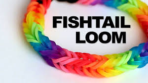 bracelet looms youtube images Fishtail loom bracelet tutorial rainbow loom jpg