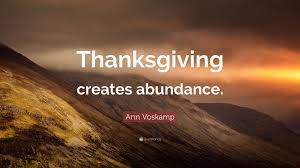 vosk quote thanksgiving creates abundance 9 wallpapers