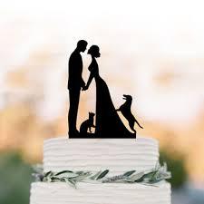 dog cake toppers shop dog wedding cake toppers on wanelo