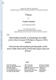 bureau num ique du directeur déformation actuelle et cinématique des pdf available