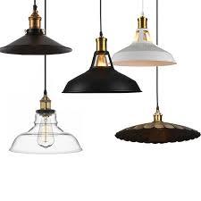 Hanging Light Bulb Pendant 2017 Industrial Retro Style Led Pendant Light Black White