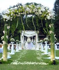 Garden Wedding Reception Decoration Ideas Garden Wedding Decoration Ideas At Best Home Design 2018 Tips