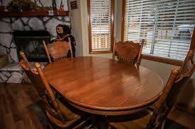 cedar dining room table 971 cedar glen ra46172 redawning